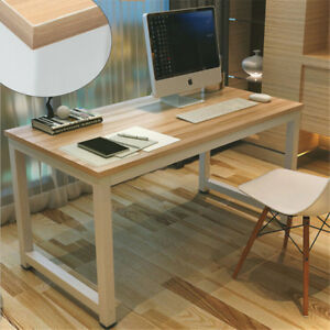 Us Computer Desk Pc Laptop Table Writing Study Workstation Home Office Furniture