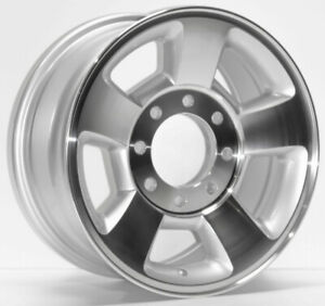 New Set 4 17 Machined Alloy Wheels Rims For 2003 2009 Dodge Ram 2500 3500