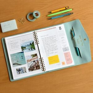 Plepic 2019 Gentle Days Diary Planner Organize Scheduler Notebook 7 Color