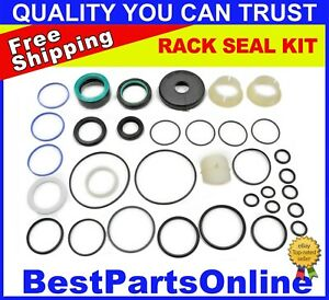 Power Steering Rack And Pinion Seal Kit For Bmw X5 2000 2006