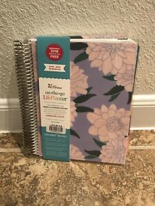 Erin Condren Weekly Life Planner Calendar Floral 2018 2019 Pink Floral New Year