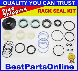 Power Steering Rack And Pinion Seal Kit For Bmw 7852 633 053 1 096 641
