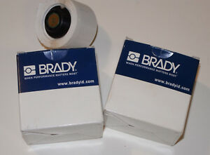 Brady Ptl 19 427 Wire Cable Labels 2 Rolls Of 250 For Use With Tls 2200