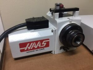 Refurbished Haas Pneumatic Ha5c Collet 4th Axis Rotary Table see Video