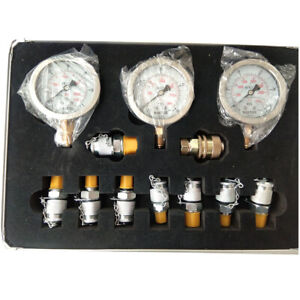 Excavator Hydraulic Pressure Test Kit hydraulic Tester test Coupling 9