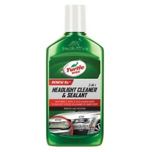 Turtle Wax Cleaner And Sealant T 43 Headlight Lens Restoration System Restorer