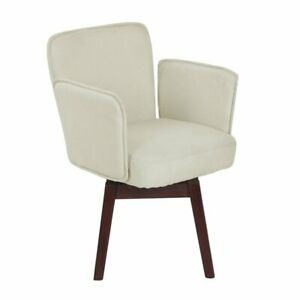 Elle Decor Esme Home Office Chair In Ivory
