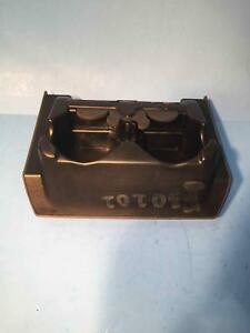 2002 Ford Explorer Mountaineer Rear Console Mount Cup Holder Dark Graphite Grey
