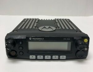 Motorola Xtl 2500 P25 Mobile Radio Model M21urm9pw1an 800 Mhz Used