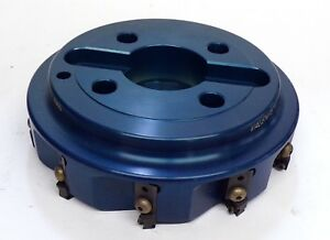 Valenite Indexable Face Mill Vfa 080 10r bdy 8 1 5 Arbor