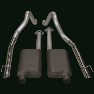 Flowmaster 17215 1998 Ford Mustang Gt Cobra 4 6l 2 5 Cat Back Exhaust System