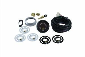 Aem Digital Oil Transmission Water Temp Gauge 100 300f With Sensor And Wiring