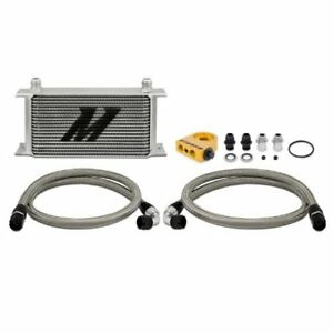 Mishimoto Universal 10 row Thermostatic Oil Cooler Kit Silver