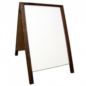 A frame Sign Dry Erase Double Sided Sidewalk