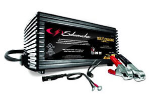 Schumacher Sc 1355 Battery Maintainer Trickle Charger 6 12v Auto Start 1 5amp