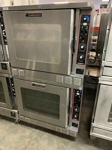 Garland Moisture Plus Standard Oven Mp gs 10 s Gas Combi Oven Double Stack