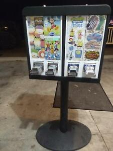 Sticker Tattoo Bulk Vending Machine 4 Column