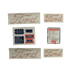 8n5052dp Decal Set 8n Ford Tractors 1950 To 1952 models W Proofmeter 8n5052