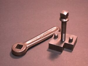 9 10 K South Bend Lathe Carriage Lock And Wrench