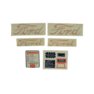D naa5354 For Ford New Holland Tractor Decal Set Jubilee Naa Tractors
