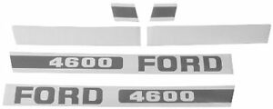 Ford Tractor 4600 Hood Decal Kit Ebpn16605d