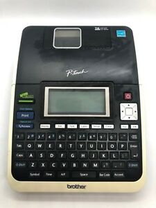 Brother P touch Pt 2730 Electronic Label Printer With Power Supply And Cable