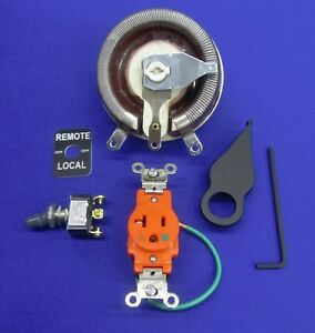 Fits Lincoln Welder Sa 200 250 Gas Remote Kit Rheostat Knob Switch Boot