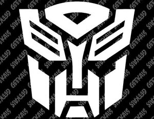 Transformers Autobots Decal Free Us Shipping