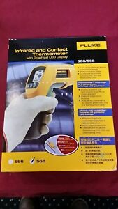 Fluke 568 Infrared Thermometer Included Flukeview Forms Software Probe