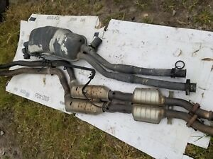 Bmw E36 328i Oem Complete Exhaust System Muffler Cat Back 328 Mid Section 98 99