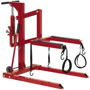New High Position Motorcycle Lift 1100 Lb Capacity Wheels