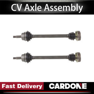 Cardone Cv Axle Shaft Rear Left right 2 Pcs For 1987 Volkswagen Quantum awd