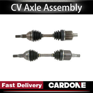 Cardone Cv Axle Shaft Front Left right 2pcs For Buick Regal supercharged 1997