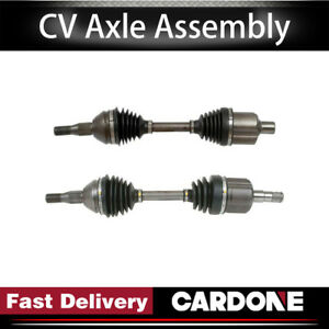 Cardone Cv Axle Shaft Front Left right 2pcs For 1997 Buick Regal supercharged