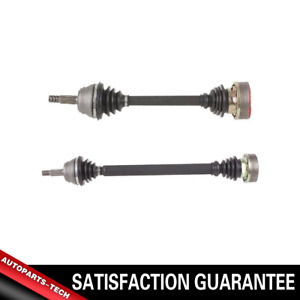 Cardone Cv Axle Shaft Front Left right 2 Pcs For 1986 Vw Scirocco 100mm Dia Ibj