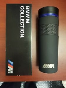 Bmw M Logo Thermal Mug Travel Coffee Drink Holder Matt 80232454742 Oem