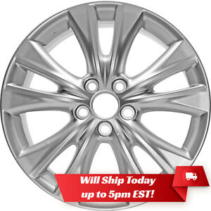 New Set Of 4 18 Replacement Alloy Wheels And Centers For 2006 2018 Toyota Rav 4