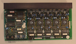 5 Axis Microstepper Drive Board For Leo 435 Vp Electron Microscope