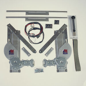 Specialty Ford Model A 1928 1929 1930 1931 Power Window Kit 2 Door W o Switches