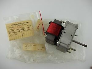 Barber Colman Take Up Motor With Gear Reduction Renex Rheem 103243 2h Actuator