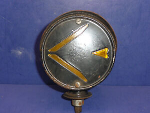 Vintage Nos Signal Stat Left Arrow Double Sided Hooded Turn Signal Ct32