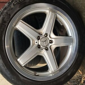 Mercedes Gl550 21 Rims And Tires