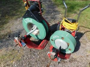 Spartan 1065 300 Sewer Pipe Drain Cleaning Machine Snake Rooter 2 Machines