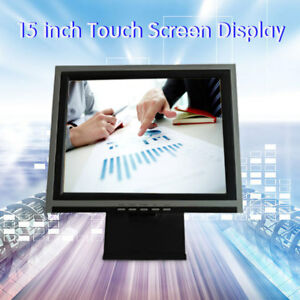 15 Tft led Vga Touch Screen Monitor Pos Restaurant Pub Kiosk Retail Systems Us
