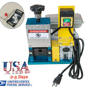 Usa Powered Electric Wire Stripping Machine Metal Tool Scrap Cable Stripper Easy