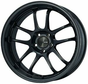 Enkei Wheels Rim Pf01evo 18x9 5 5x114 3 Et35 75cb Black Paint
