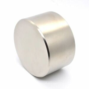 1pcs N52 Neodymium Magnet 70x40 Mm Metal Super Strong Magnets Round Permanent