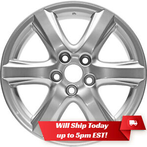 New Set Of 4 17 Replacement Alloy Wheels Rims For 2002 2010 Toyota Camry