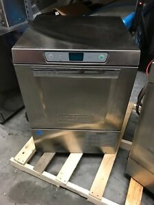 2017 Hobart Lxer Advansys Commercial Under Counter Dishwasher High Temp