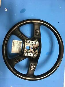 03 2007 Silverado Black Classic Style Leather Wrapped Steering Wheel 10364488